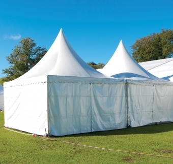 Fabrics suited to Temporary Tents / Marquees
