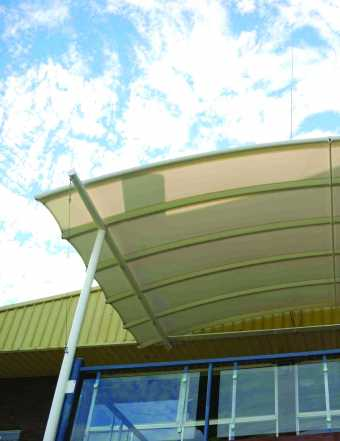 Awnings Commercial Awning Fabrics Gale Pacific Commercial